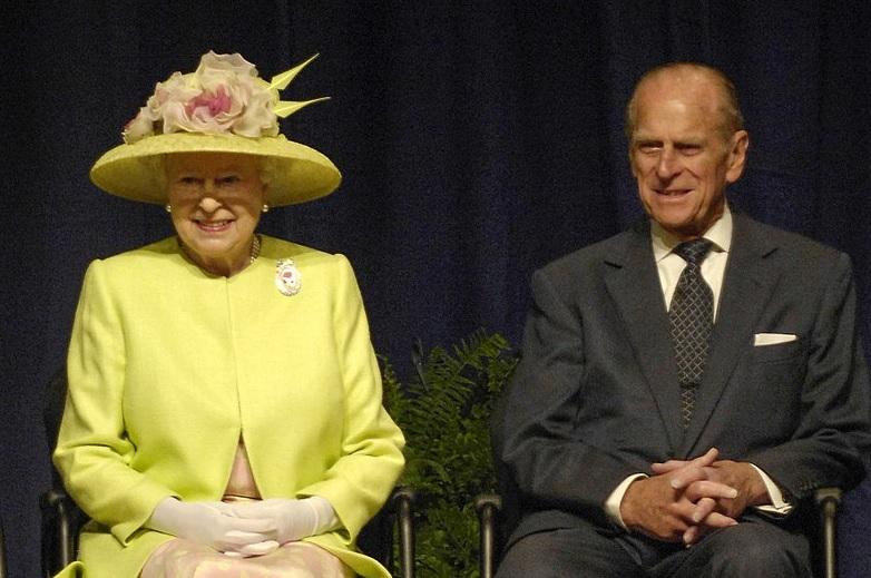 Principe Filippo con Elisabetta II 2