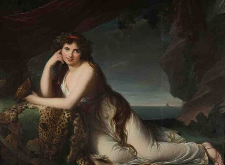 Sicily and Britain Emma Hamilton by Élisabeth Louise Vigée Le Brun