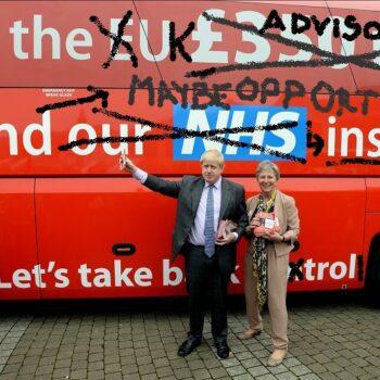 Brexiteers looking for Brexiteers looking for good-looking Brexit benefits BUS 3