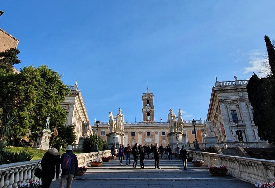 Campidoglio Roma foto di Gianluca Navarrini