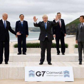 Jeopardising UK-US friendship G7 Meeting in Cornwall Boris Johnson