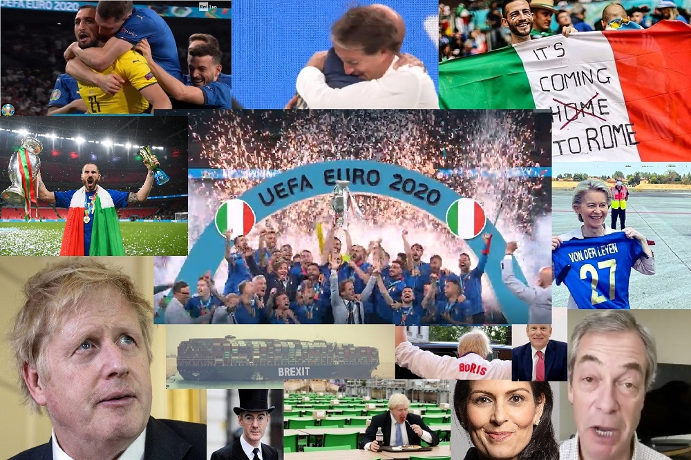 Winners and losers A European victory and yet another Brexit defeat