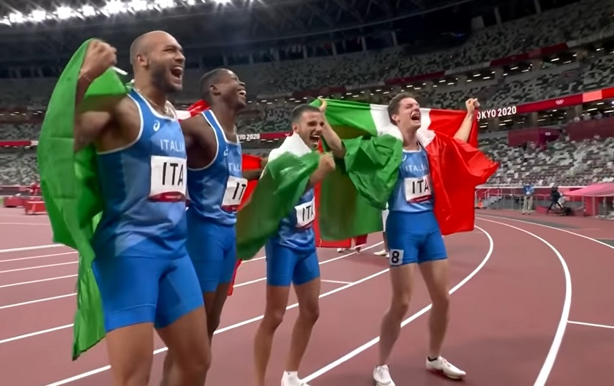 Olimpiade Tokyo 2020 bilancio Italia M