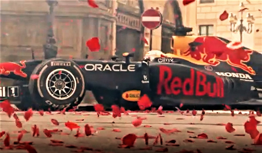 Red Bull a Palermo 2021 T MM